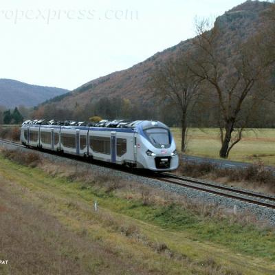 Régiolis SNCF à Massiac (F-15)