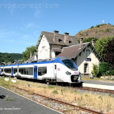 Regiolis SNCF à Murat (F-15)