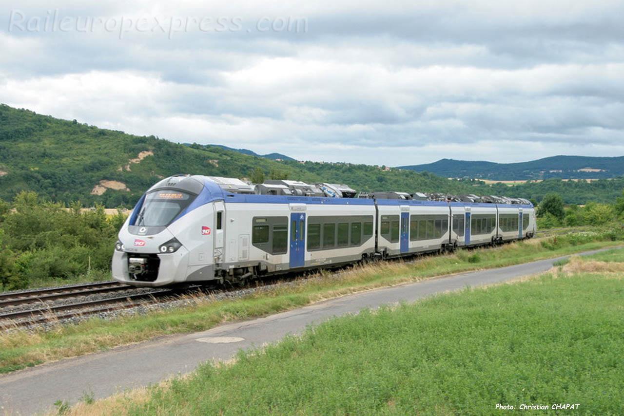 Régiolis SNCF à Vic le Comte (F-63)