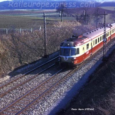 RGP X 2700 SNCF TEE Le Genevois à Arnex (CH)