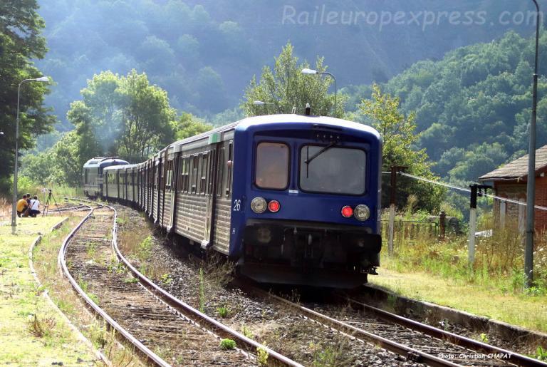 RRR 26 SNCF à Monistrol d'Allier (F-43)