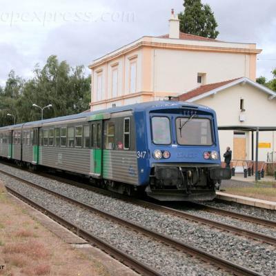 RRR 347 SNCF à Brassac les Mines (F-43)