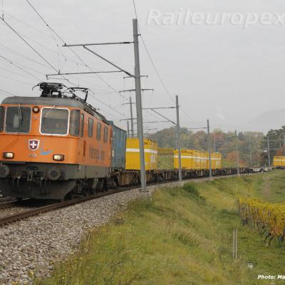 RTS CFF Re 4/4 II 11320 à Boudry