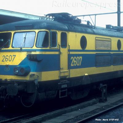 2607 SNCB à Liège (B)