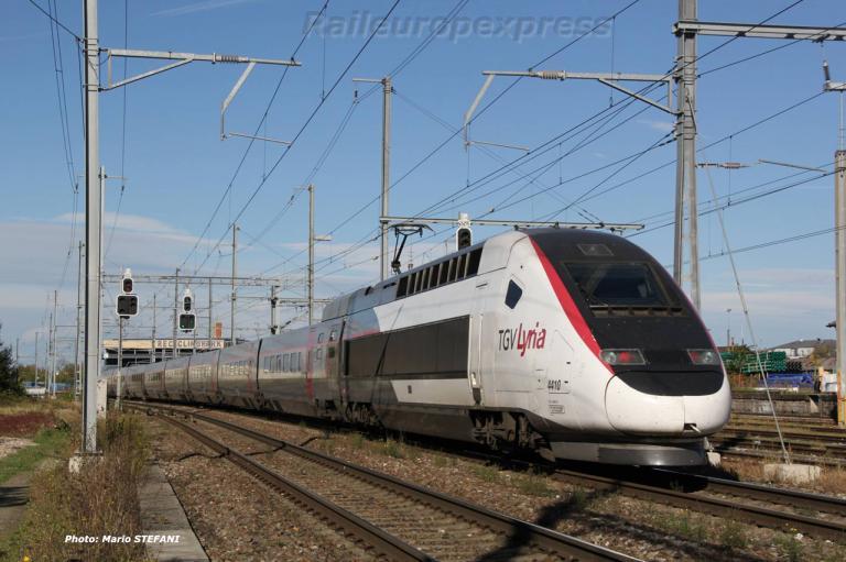 TGV 4410 Lyria à Basel