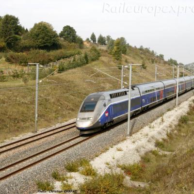 TGV Duplex vers Marsaz (F-26)
