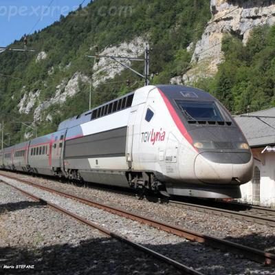 TGV Lyria à Vallorbe (CH)