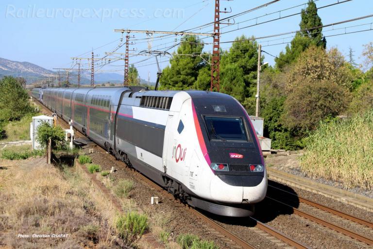 TGV SNCF à Conilhac Corbières (F-11)