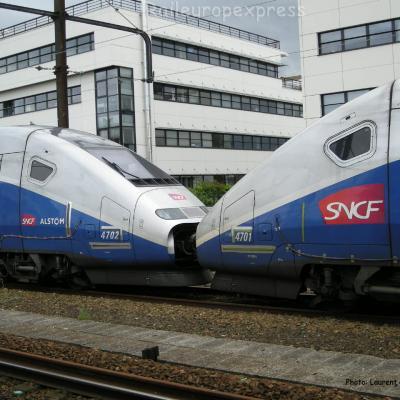 TGV SNCF au Mans (F-72)