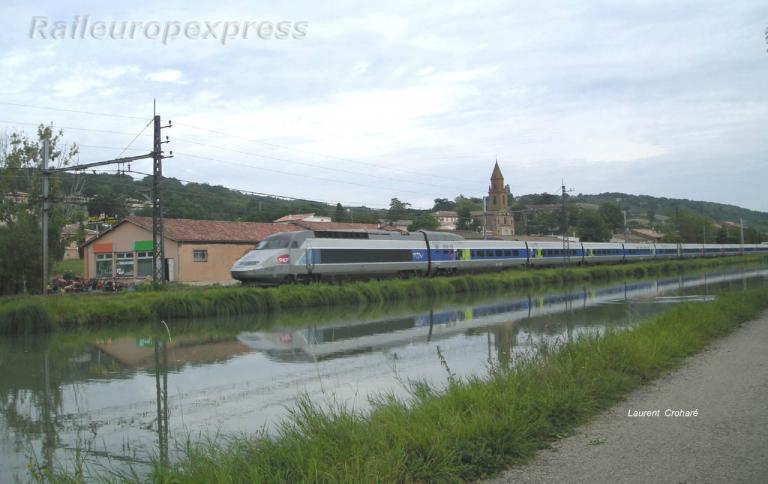 TGV SNCF à Pompignan (82)