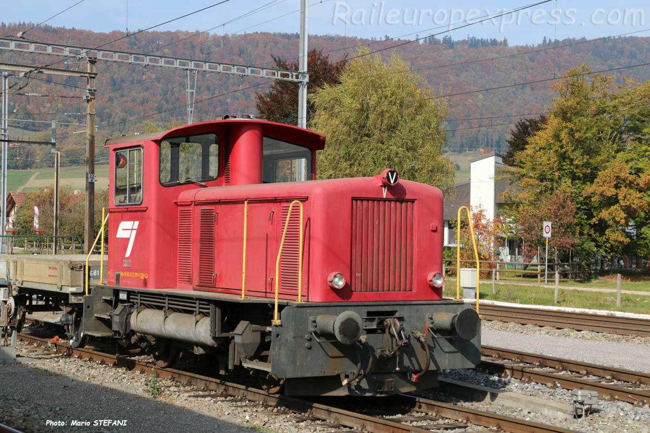 Tm 232 181-9 CJ à Glovelier (CH)