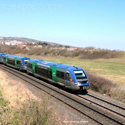 UM d'X 73500 SNCF le Cendre Orcet (F-63)