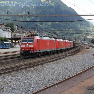 UM de 185 DB à Airolo (CH)