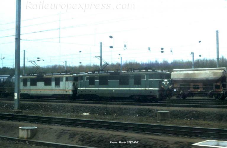 UM de BB 16500 SNCF à Thionville (F-57)