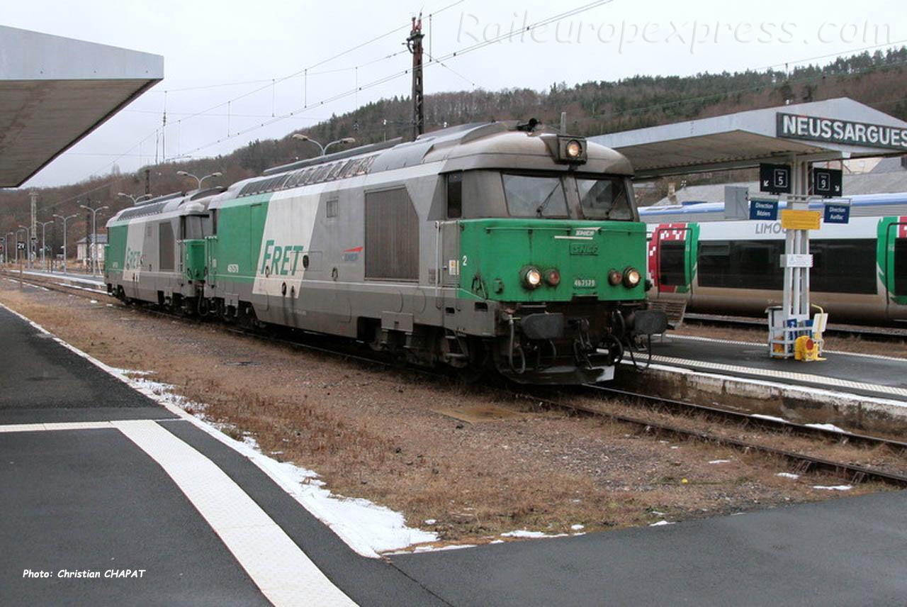 UM de BB 67400 SNCF à Neussargues (F-15)