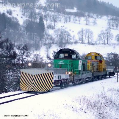 UM de BB 69000 SNCF à Murat (F-15)