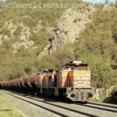 UM de G 1200 Colas Rail à Issoire (F-63)