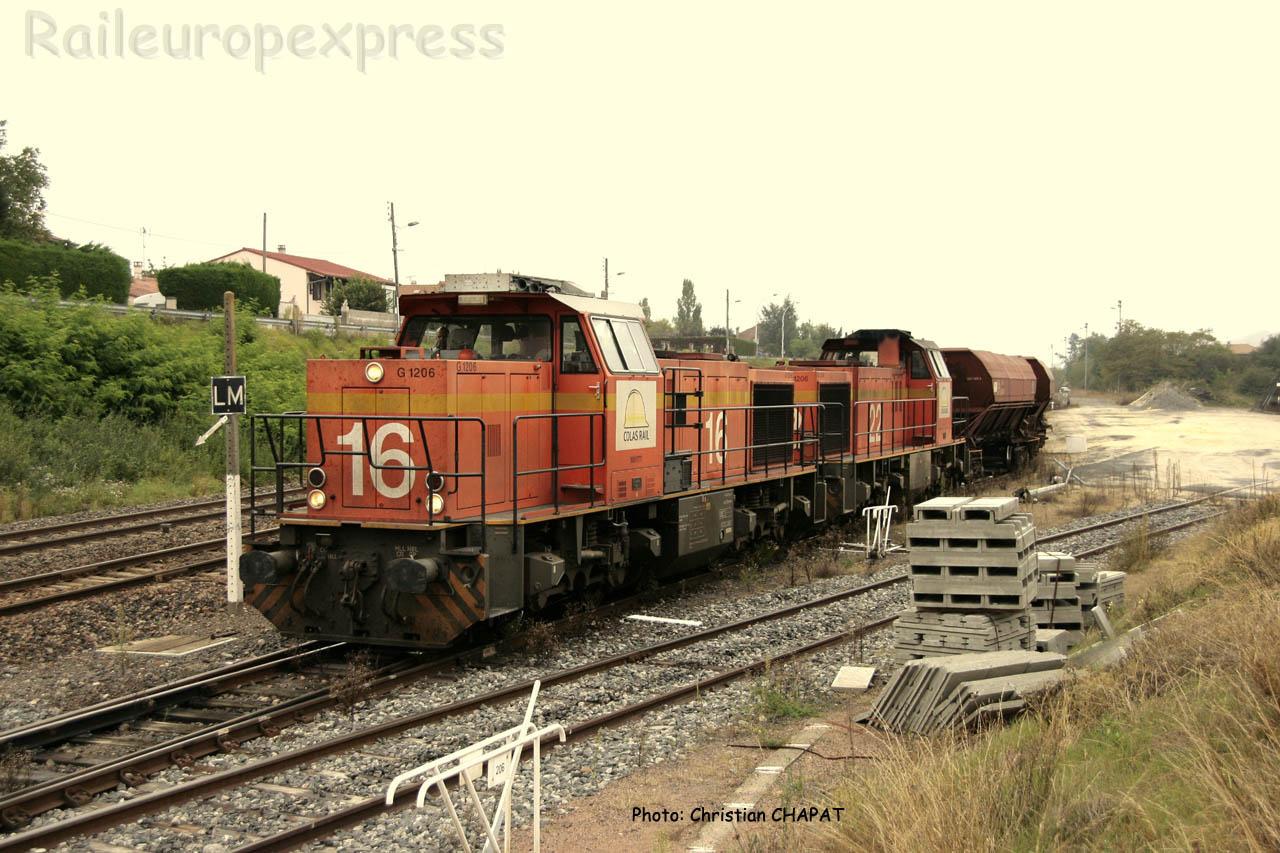UM de G 1200 Colas Rail