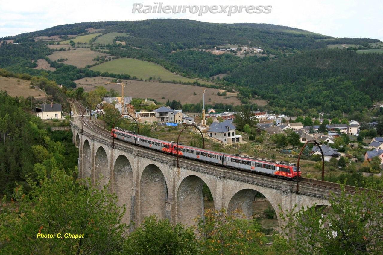 UM de Z 7300 SNCF à Marvejols
