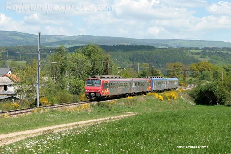UM de Z2 SNCF à Ruynes en Margeride (F-15)
