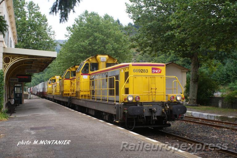 UM triple de BB 69000 à Villefort