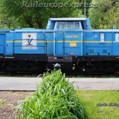 V 212 Vechietti ex DB à Villefort