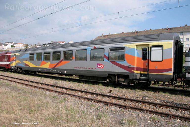 Voiture Discotèque SNCF à Saint Flour (F-15)