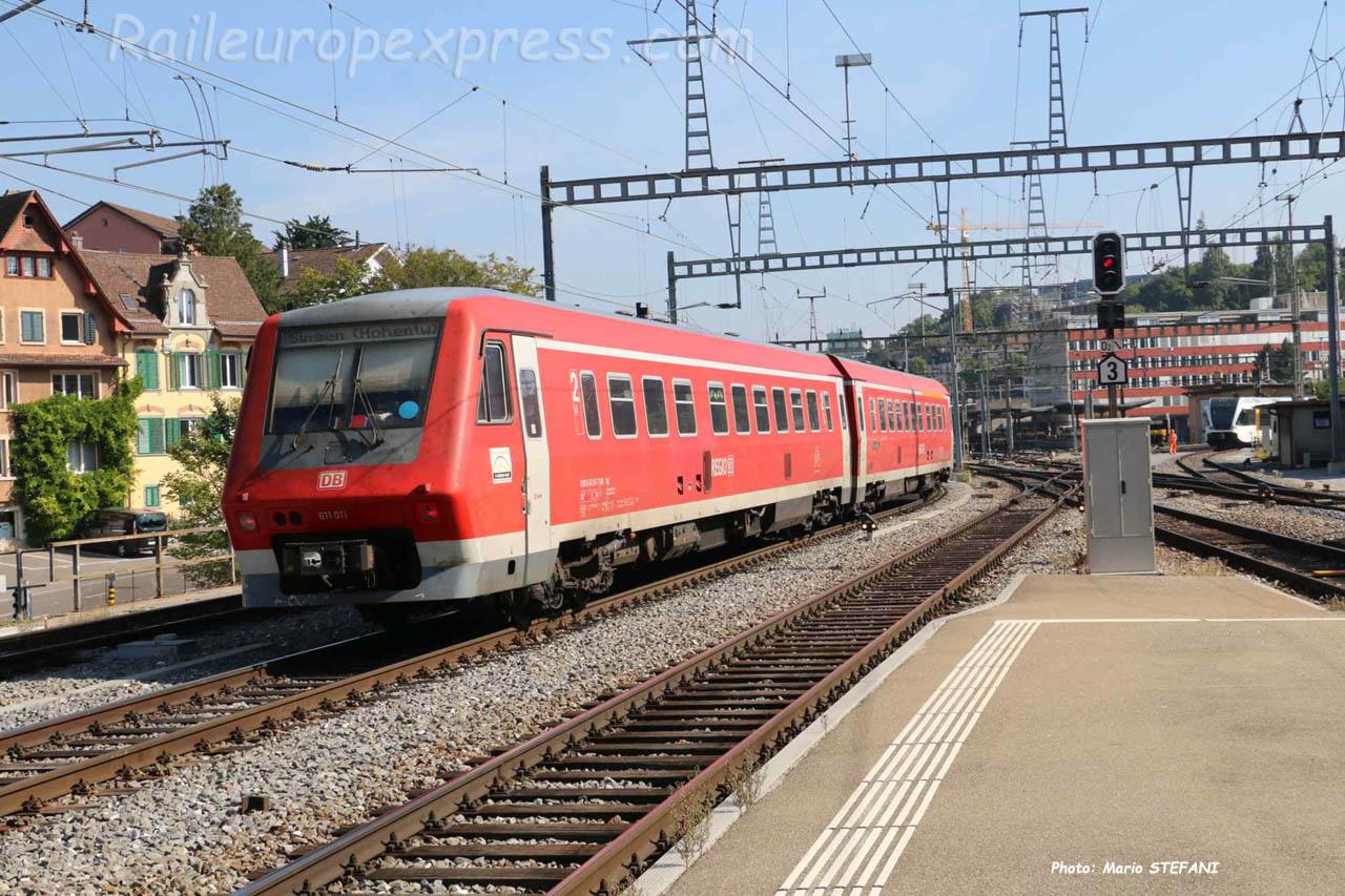VT 611 011 DB à Schaffhausen (CH)