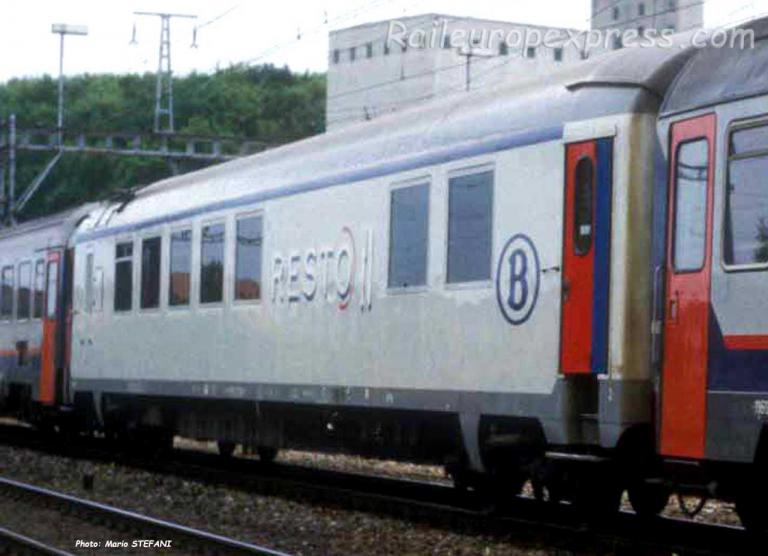 WR SNCB ex Gril Express SNCF à Ostermundingen (CH)