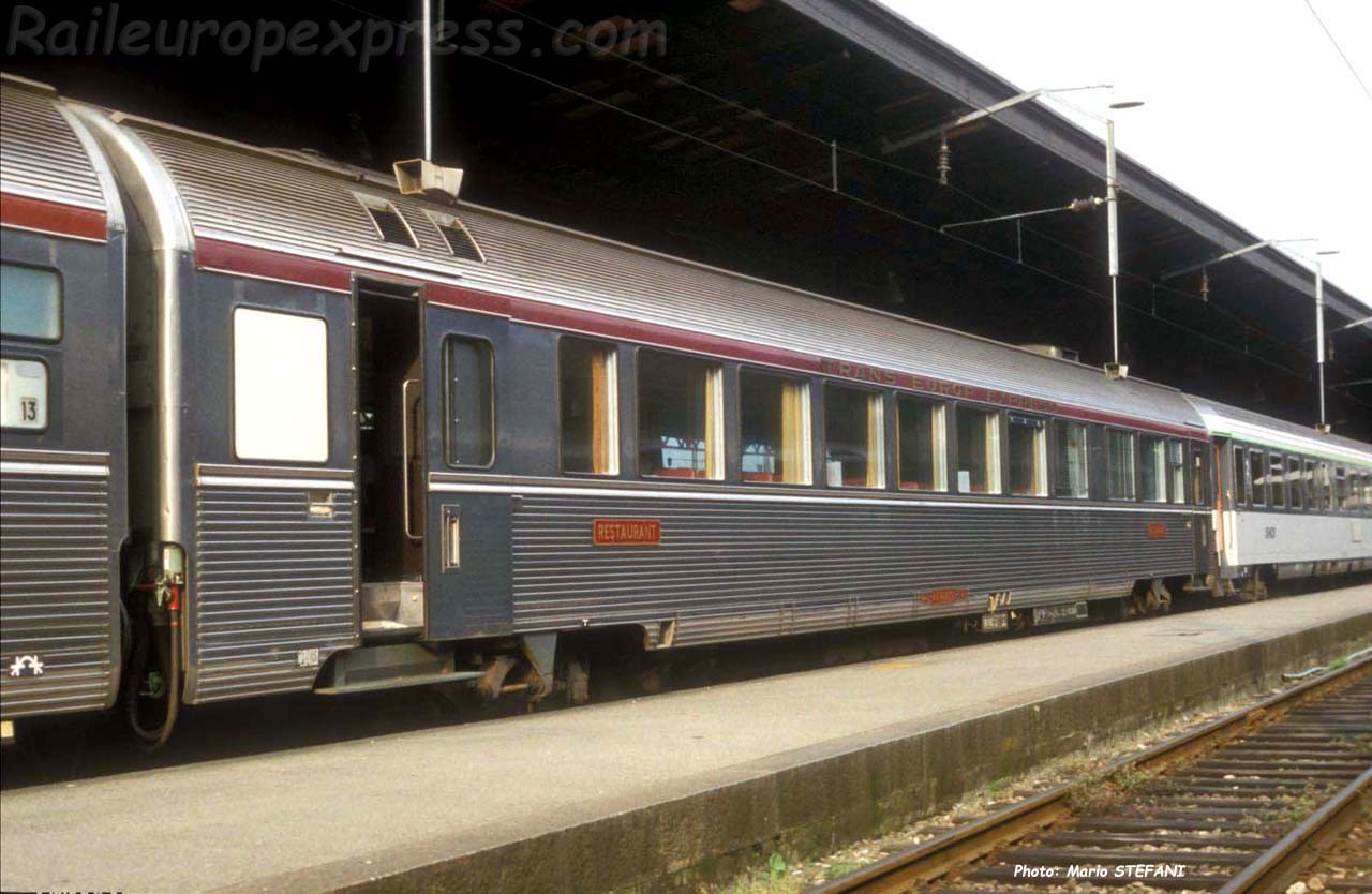 Wr SNCF TEE à Basel (CH)