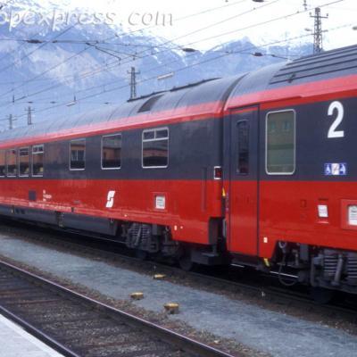 WRmz OBB à Innsbruck (A)