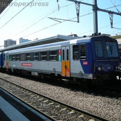 X 2120 SNCF à Toulouse