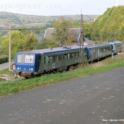 X 2230 SNCF à Neussargues (F-15)