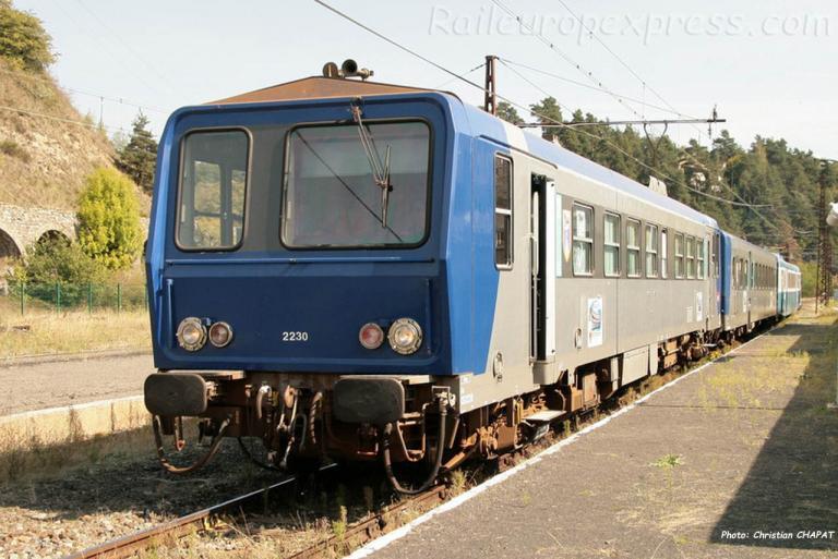 X 2230 SNCF à Saint Flour (F-15)
