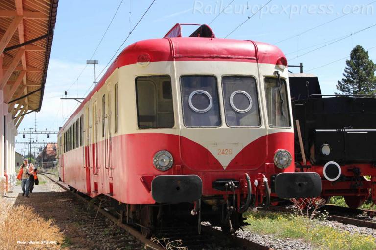 X 2426 à Vallorbe (CH)