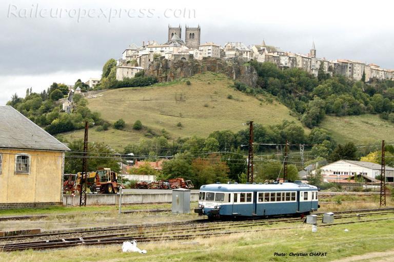 X 2900 SNCF à Saint Flour (F-15)