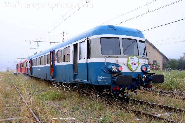 X 2907 SNCF à Saint Flour (F-15)
