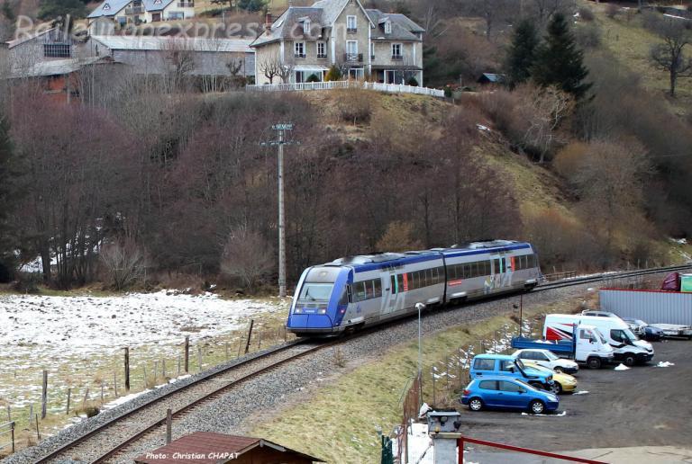 "X 72539 SNCF au ""Martinet"" de Murat (F-15)"