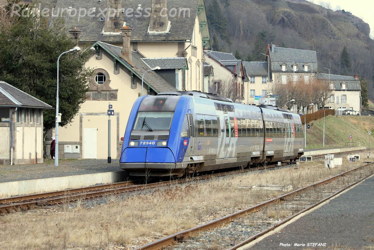 X 72540 SNCF à Murat (F-15)