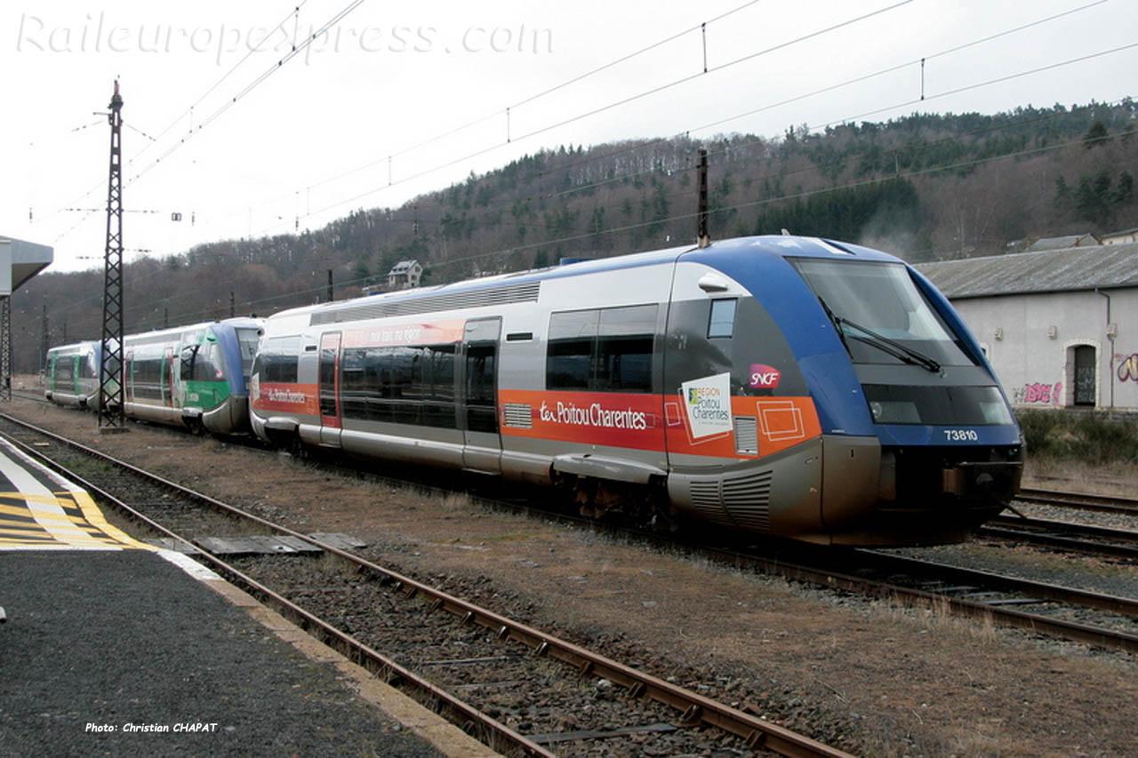 X 73810 SNCF à Neussargues (F-15)