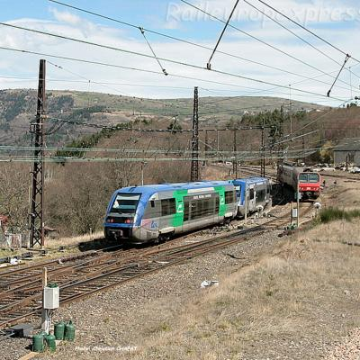 X 73500 et Z 7300 à Neussargues (F-15)