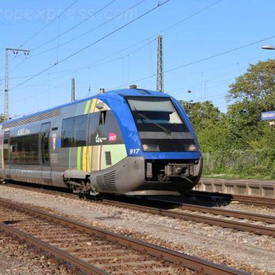 X 73500 SNCF à Müllheim Baden (D)