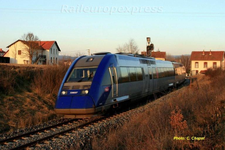 X72657  à Arvant