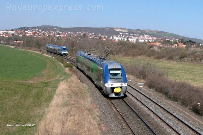 XGC SNCF près du Cendre (F-63)