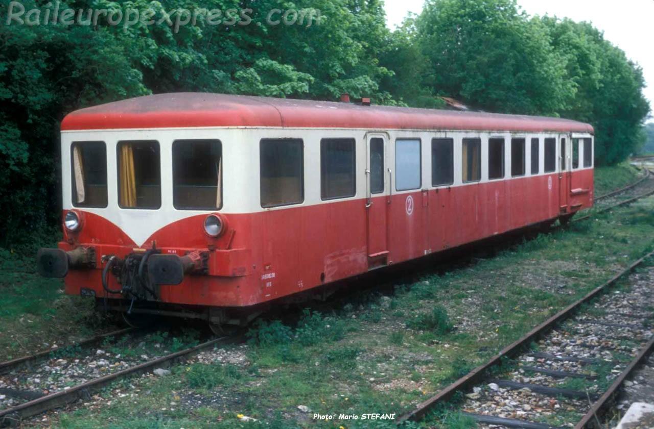 XrBD 8100 SNCF aux Loges (F-76)