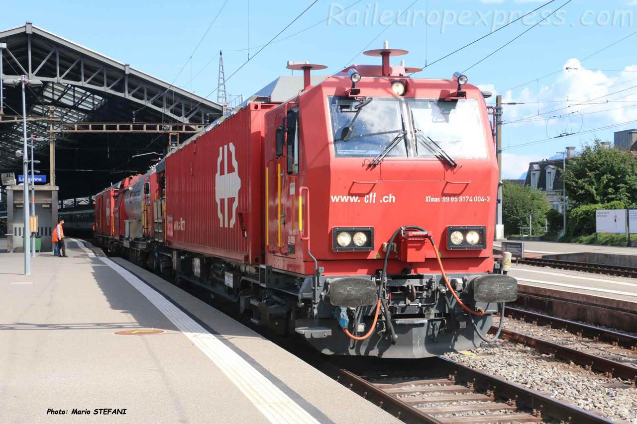 XTmas 99 85 9174 004-3 CFF à Lausanne (CH)