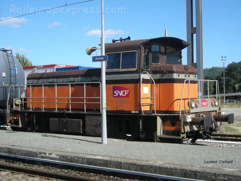 Y 8103 SNCF à Boussens (F-31)