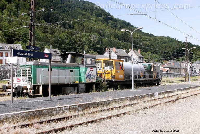 Y 8141 SNCF à Neussargues (F-15)