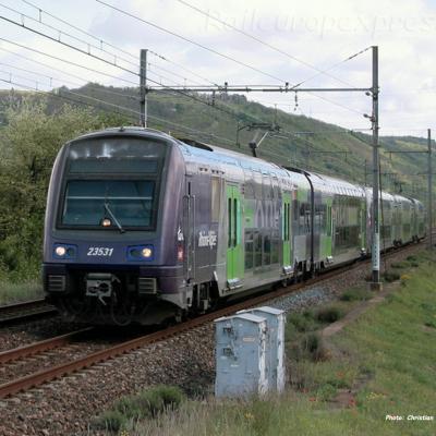 Z 23531 SNCF à Laveyron (F-26)