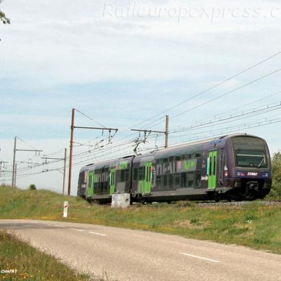 Z 23567 SNCF à Laveyron (F-26)